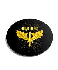 Porta Copos Militar Força Aérea Acrílico