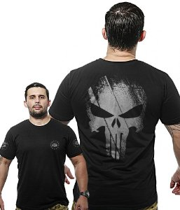Camiseta Militar Wide Back Punisher