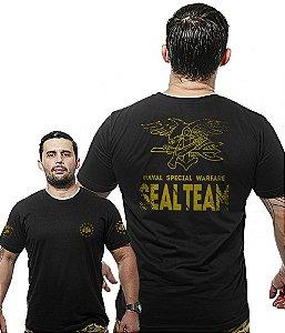 Camiseta Militar Wide Back Seal Team Warfare