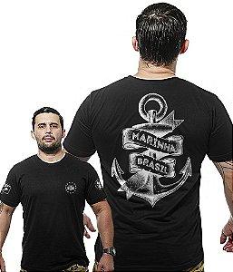 Camiseta Militar Wide Back Marinha do Brasil