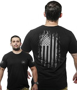 Camiseta Militar Wide Back EUA Defence