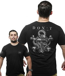 Camiseta Militar Wide Back Don't Tread On Me