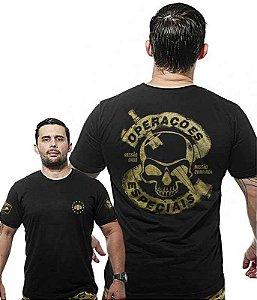 Camiseta Militar Wide Back Operações Especiais