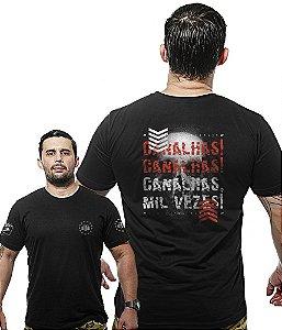 Camiseta Militar Wide Back Canalhas Canalhas