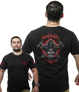 Camiseta Militar Wide Back Firefigther