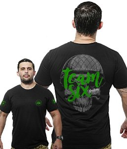 Camiseta Militar Wide Back Team Six