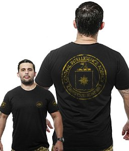 Camiseta Militar Wide Back Central Intelligence Agency