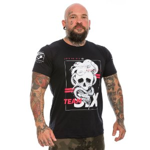 Camiseta Militar Concept Line Team Six Born to kill