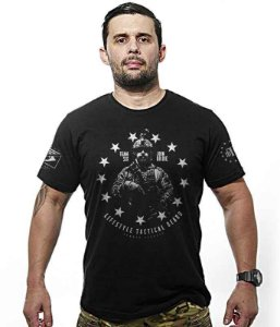 Camiseta Militar Concept Line Team Six Lifestyle tactical beard