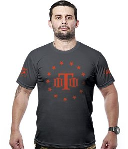 Camiseta Militar Concept Line Team Six  Tactical  Hurricane