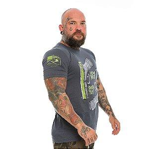 Camiseta Militar Concept Line Team Six  Glock Semper Paratus Hurricane