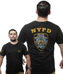 Camiseta Militar Wide Back NYPD Police Department