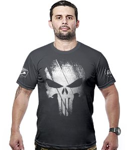 Camiseta Justiceiro Punisher Hurricane Line