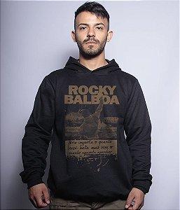 Casaco Militar Com Capuz Rocky Balboa