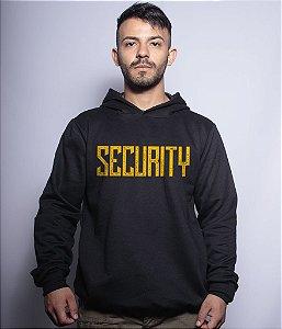 Casaco Militar Com Capuz Security