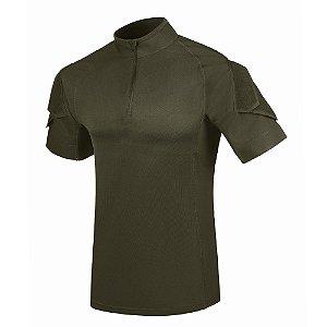 Camiseta de Combate Fighter Verde Oliva Invictus