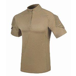 Camiseta de Combate Fighter Caqui Mojave Invictus