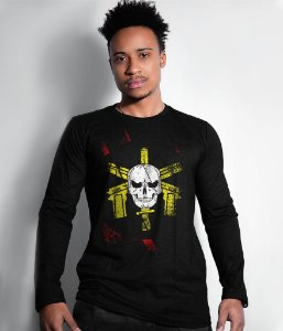 Camiseta Manga Longa Bope