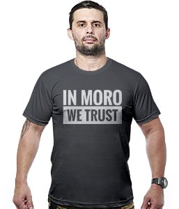 Camiseta Militar In Moro We Trust