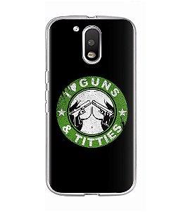 Capa para Celular I Love Guns And Titties