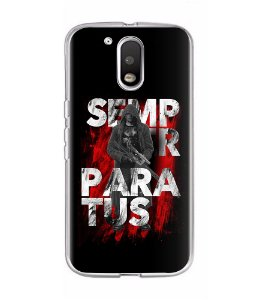 Capa para Celular Semper Paratus