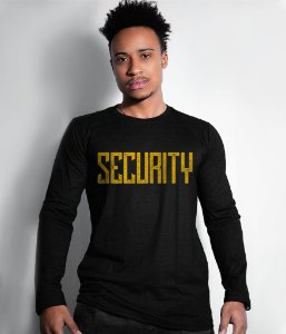 Camiseta Manga Longa Security