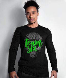 Camiseta Manga Longa Team Six