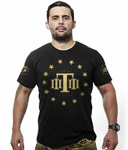 Camiseta Militar Gold Concept Line Team Six Tactical  Hurricane