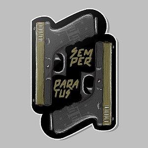 Adesivo Exclusivo Semper Paratus Glock