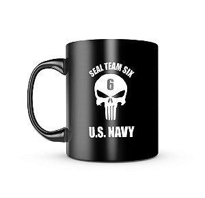 Caneca Dark Militar Seal Team Six Us Navy
