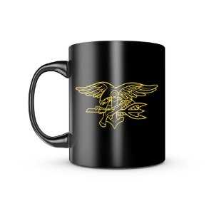 Caneca Dark Militar Navy Seal Team Special Warfare