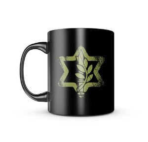 Caneca Dark Militar Israel Defense