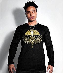 Camiseta Manga Longa PARA-SAR Gold Line