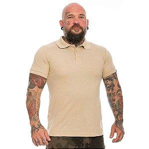 Camiseta Gola Polo Team Six Lisa Coyote