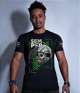 Camiseta Squad T6 GUFZ6 Semper Fi Night Vision Gear