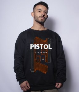 Casaco Básico de Moletom GUFZ6 Glock Pistol Operator