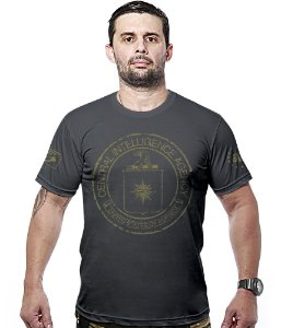 Camiseta Militar Central Intelligence Agency Hurricane Line