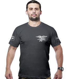 Camiseta Militar Original Navy Seals Hurricane Line