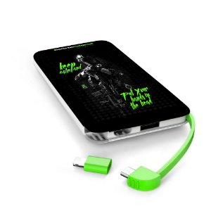Carregador Portátil Power Bank Parabellum Keep Calm and Put Your Hands In The Head