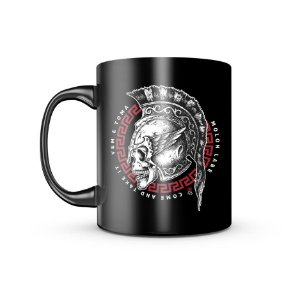 Caneca Dark GUFZ6 Molon Labe Come And Take It