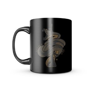 Caneca Dark GUFZ6 Don't Tread On Me Snake