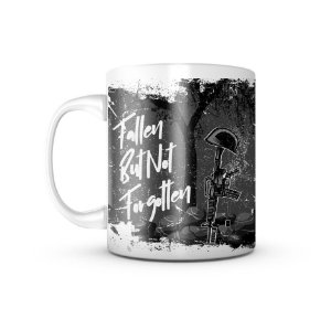Caneca Dark GUFZ6 Fallen But Not Forgotten