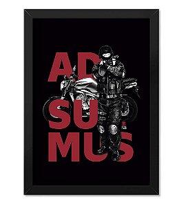 Poster com Moldura Adsumus Polícia