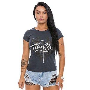 Camiseta Feminina Concept Line Baby Look Arcanjo