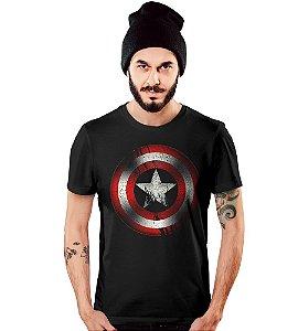Camiseta Filmes Capitão América Vingadores