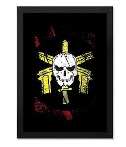 Poster Militar com Moldura BOPE