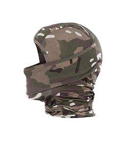 Balaclava Tática Snake Multicam Bravo Militar