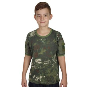 Camiseta Militar T Shirt Ranger Infantil Mandrak Bélica