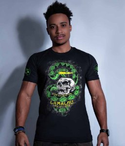 Camiseta Militar Squad T6 Camacho Ponto Cinquenta Team Six Collection
