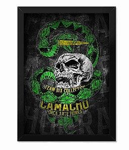 Poster com Moldura Squad T6 Camacho Ponto Cinquenta Team Six Collection